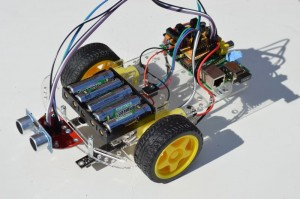 Raspberry Pi based robot